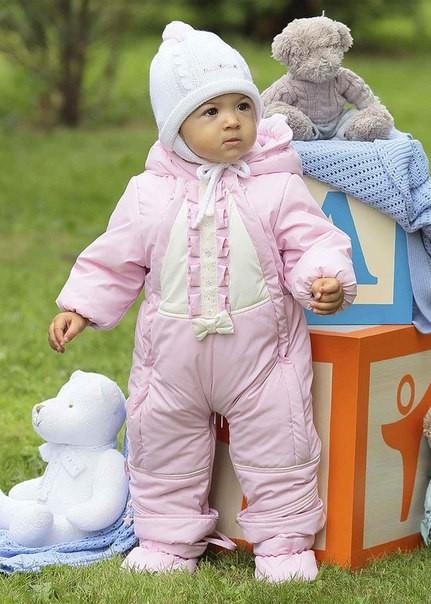 Купить осенний комбинезон для новорожденного недорого